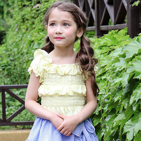 Puella Flo Portia Smocked Top - Dango Kids