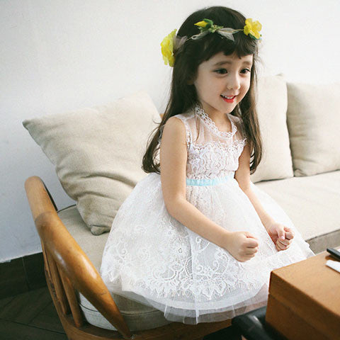Amber Carley Tulle Dress - Dango Kids