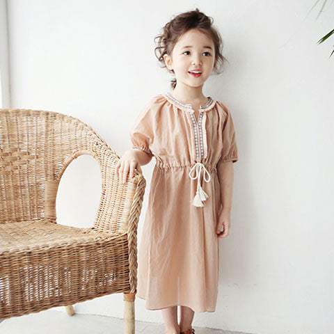 Sweven Daney Tassel Dress - Dango Kids