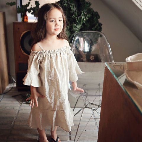 Bien a Bien Kaelah Cotton Dress - Dango Kids
