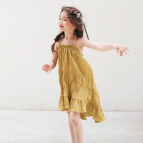 Tutto bene Paris Halter Neck Dress - Dango Kids