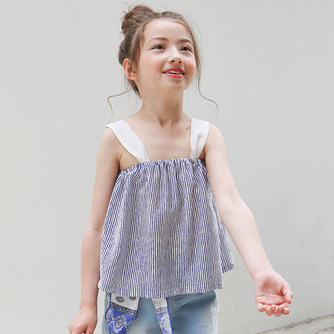 Tutto bene Reese Striped Top - Dango Kids
