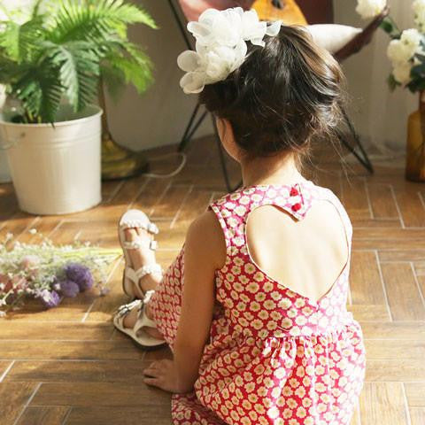 Bonne Vela Heartback Dress - Dango Kids