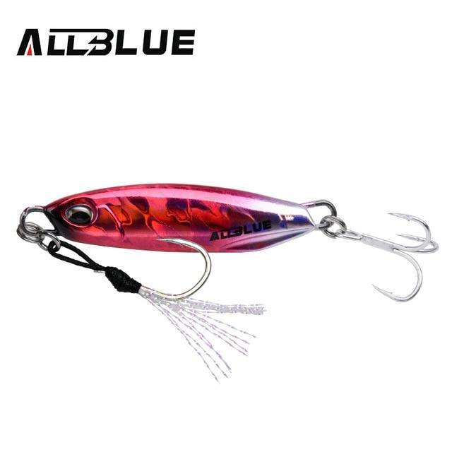 Fishing Trends Online Tackle Shop:ALLBLUE New DRAGER Metal Cast Jig Spoon 15G 30G Shore Casting Jigging Lead Fish Sea Bass Fishing Lure  Artificial Bait Tackle,Color E / 15g
