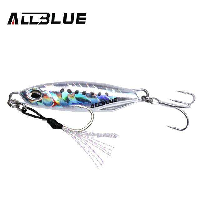 Fishing Trends Online Tackle Shop:ALLBLUE New DRAGER Metal Cast Jig Spoon 15G 30G Shore Casting Jigging Lead Fish Sea Bass Fishing Lure  Artificial Bait Tackle,Color G / 15g