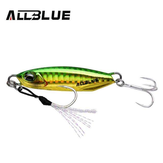Fishing Trends Online Tackle Shop:ALLBLUE New DRAGER Metal Cast Jig Spoon 15G 30G Shore Casting Jigging Lead Fish Sea Bass Fishing Lure  Artificial Bait Tackle,Color A / 15g