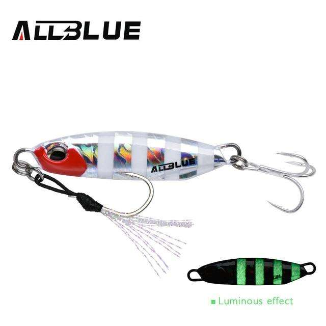 Fishing Trends Online Tackle Shop:ALLBLUE New DRAGER Metal Cast Jig Spoon 15G 30G Shore Casting Jigging Lead Fish Sea Bass Fishing Lure  Artificial Bait Tackle,Color C / 15g