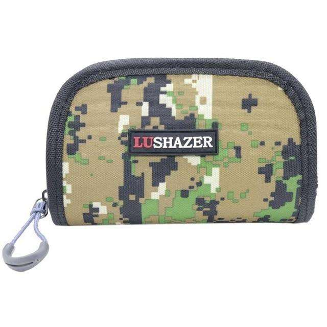 Fishing Trends Online Tackle Shop:Bag Waste shoulder 15*10*4CM Nylon Multifunctional Outdoor Lure Storage Bag,as show
