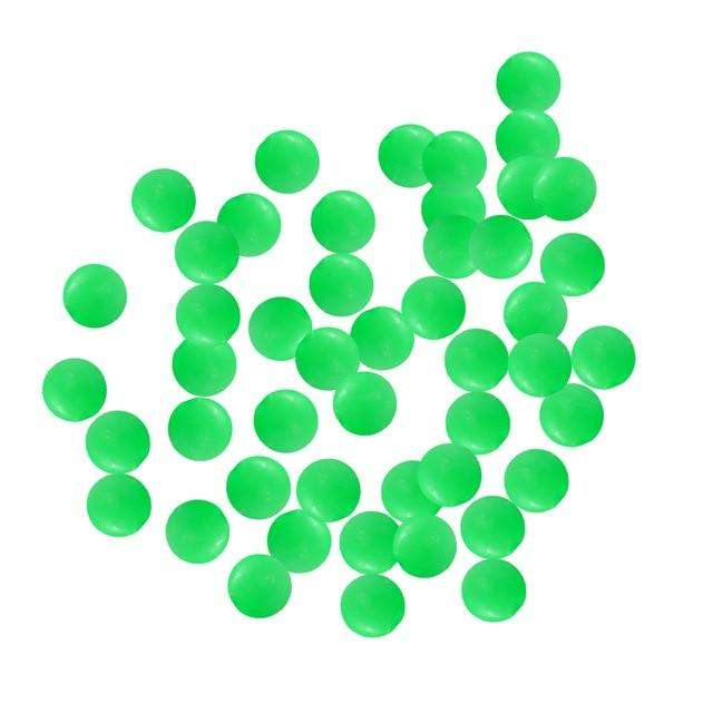Fishing Trends Online Tackle Shop:Beads 100pcs/lot Luminous Glow Beads round Float Accessories,Green round 7mm