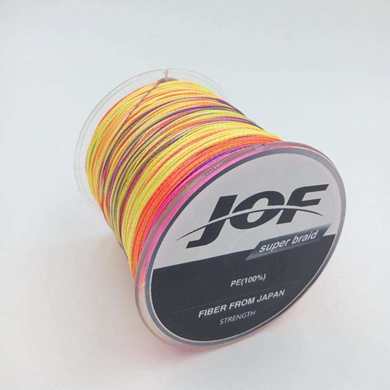 Line Braid Fishing 500M Pe 4 Strand 8-100Lb 10 Colours
