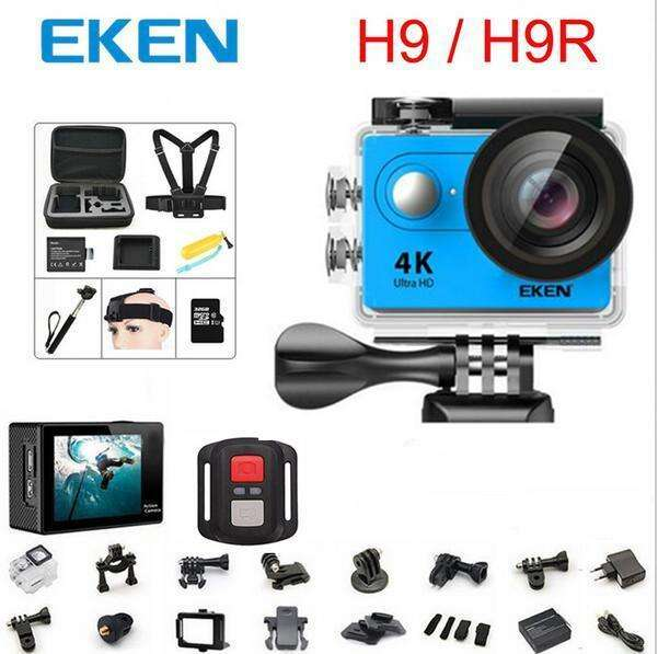 Fishing Trends Online Tackle Shop:Eken H9/H9R action camera 4K wifi Ultra HD 1080p/60fps 720P/120FPS waterproof mini cam pro video sports camera