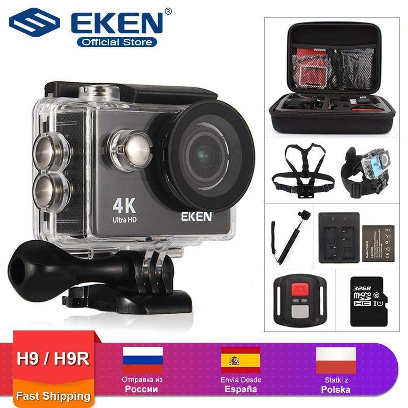 "Fishing Trends Online Tackle Shop:EKEN H9R / H9 Action Camera Ultra HD 4K / 25fps WiFi 2.0"" 170D Underwater Waterproof Helmet Video Recording Cameras Sport Cam"