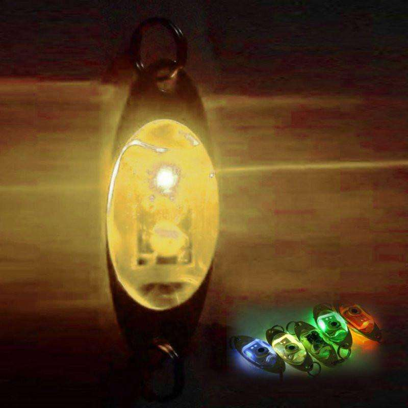 Light Flash Lamp 6 Cm/2.4 Inch Led Deep Drop Underwater Eye Shape Fishing Squid Lure