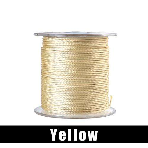 Fishing Trends Online Tackle Shop:FTK 20M 12+8 Strands PE Braided Fishing Line 210LB/300LB/390LB Super Soft Line Jig Assist Hook Multifilament Line Fish Line Wire,Yellow / 20M-0.6MM-210LB