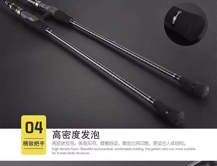 Rod Japan Full Fuji Parts Lurekiller Slow Jigging 2.0M 15Kgs Pe 2-4 Lure 100-300G Spinning/casting