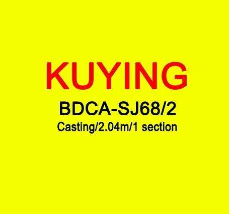 Fishing Trends Online Tackle Shop:KUYING BLUEDANCER 2.04m Casting Slow Jigging Rod Fishing Lure Cane Rods Carbon FUJI Rotate Helical Ring 1 Section 150-400g Lures,YELLOW
