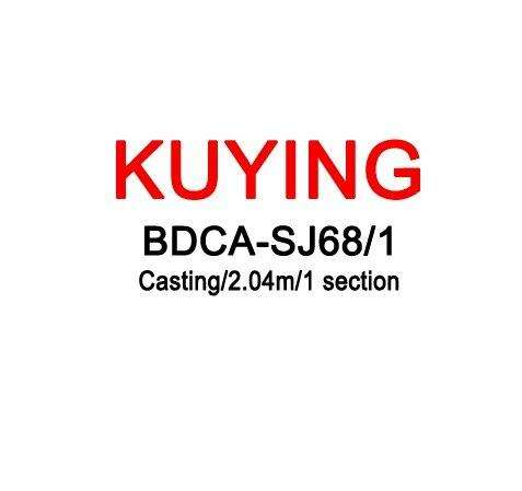 Fishing Trends Online Tackle Shop:KUYING BLUEDANCER 2.04m Casting Slow Jigging Rod Fishing Lure Cane Rods Carbon FUJI Rotate Helical Ring 1 Section 150-400g Lures,White