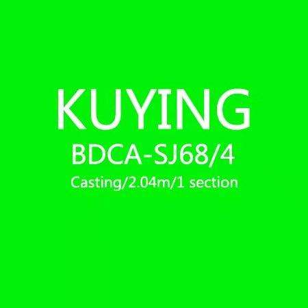 Fishing Trends Online Tackle Shop:KUYING BLUEDANCER 2.04m Casting Slow Jigging Rod Fishing Lure Cane Rods Carbon FUJI Rotate Helical Ring 1 Section 150-400g Lures,Green