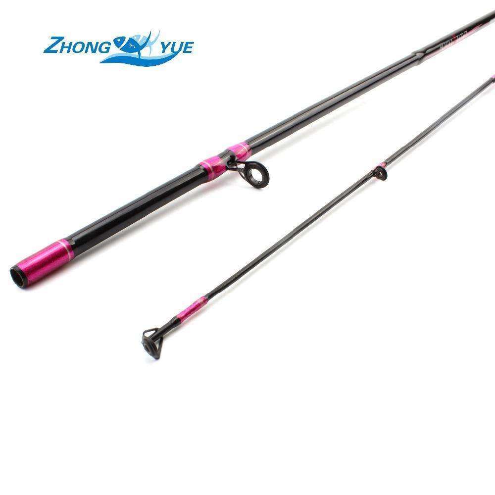 Rod Lady Lure Fishing 1.68M Ml Straight 2 Piece Spinning
