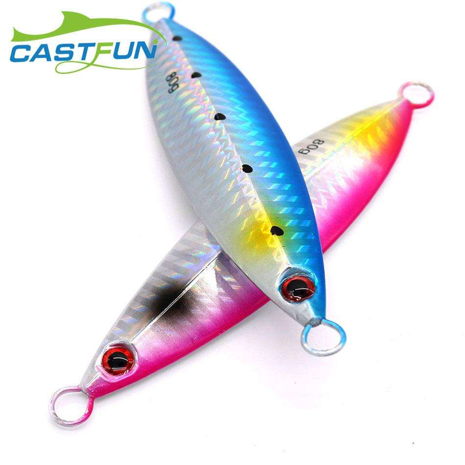 Fishing Trends Online Tackle Shop:Lure CastFun Slow Pitch Jigging 30g 40g 60g 80g Metal Jigs