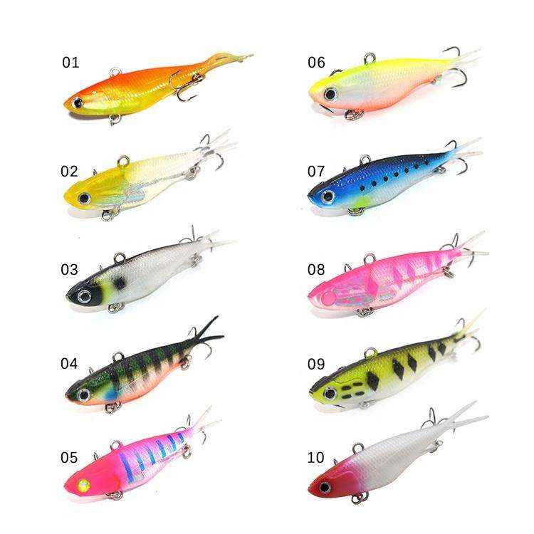 Fishing Trends Online Tackle Shop:Lure Soft Plastics 95mm Vibe Barra Jew Mullet Lures pkt 5