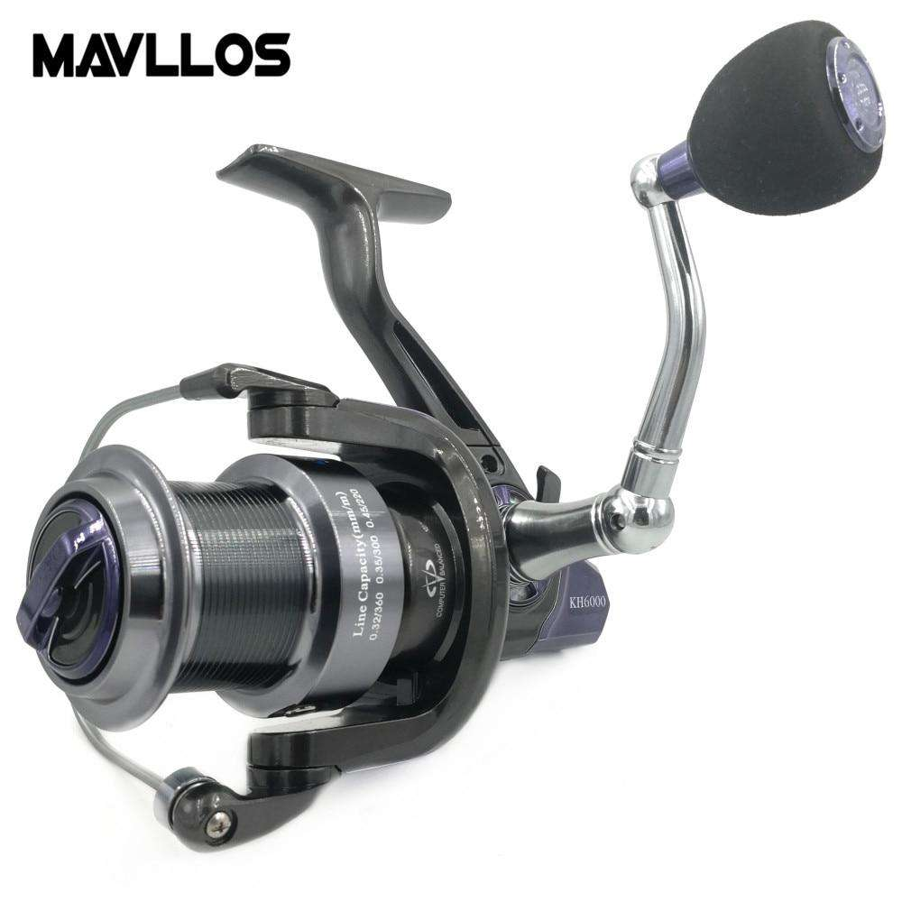 Fishing Trends Online Tackle Shop:Mavllos Slow Jigging Reel 14BB Speed Ratio 5.2:1 Max Drag 25KG Waterproof Large Line Capacity Long Shots Boat Fishing Reel