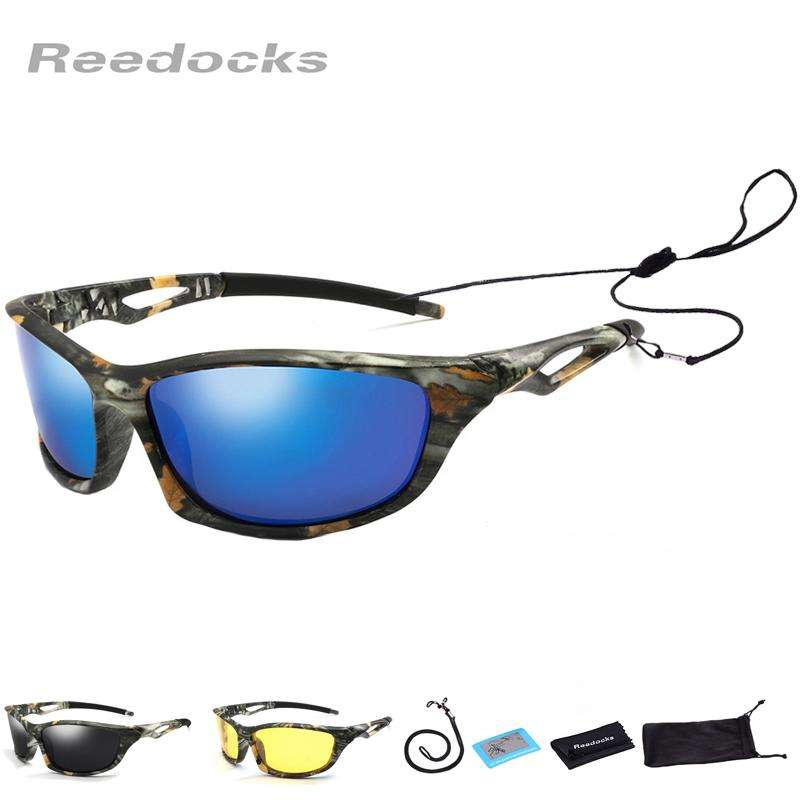 Fishing Trends Online Tackle Shop:New Camouflage Polarized Fishing Glasses Men Women Cycling Hiking Driving Sunglasses UV400 Outdoor Climbing Sports Eyewear
