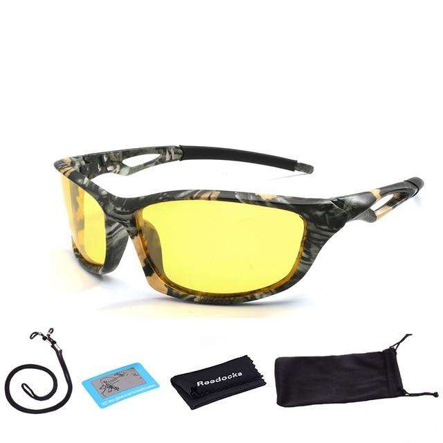 Fishing Trends Online Tackle Shop:New Camouflage Polarized Fishing Glasses Men Women Cycling Hiking Driving Sunglasses UV400 Outdoor Climbing Sports Eyewear,C07