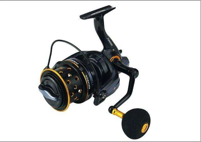 Fishing Trends Online Tackle Shop:New japanese made material 8000-10000 Size full metal spool Spinning Jigging surf Reel 14BB 18KG drag power carp saltwater reel,1 / 10000 Series