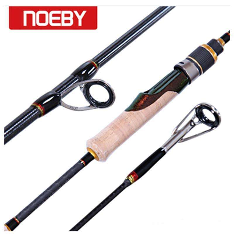 Rod Noeby Fishing Rods Carbon 1.98M 2Section M/ml Spinning