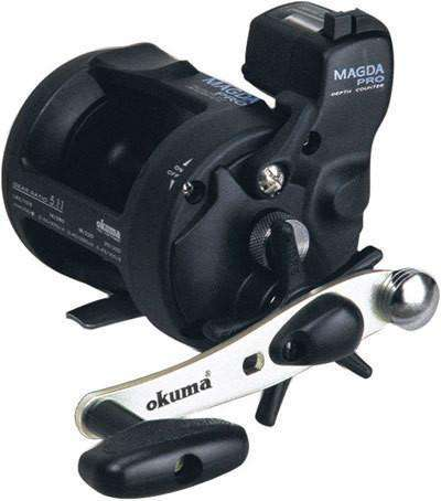 Reel Okuma Ma-30Dx Fishing Boat With Counter Baitcaster Right Hand