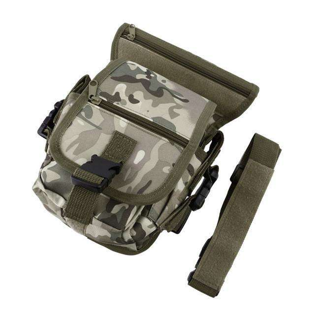 Bag Outdoor Waterproof Fishing Unisex Solid Utility Thigh Pouch Waist Belt Tool