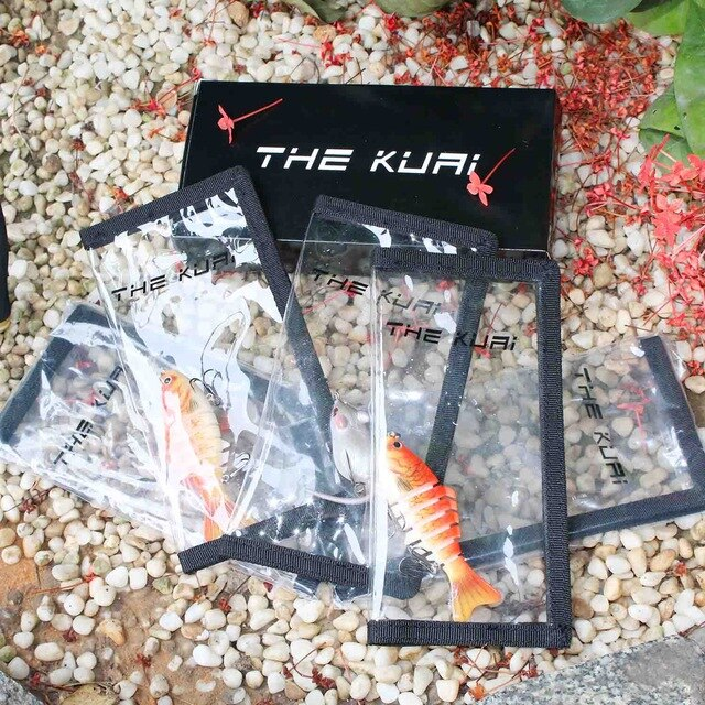 Fishing Trends Online Tackle Shop:Lure THEKUAI Lure Cover Lure Wrap Protective Covers Clear PVC Hook Wraps For lures on your rod 5pcs/box,Default Title