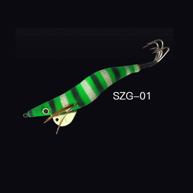 Fishing Trends Online Tackle Shop:1Pcs Egi Squid Hook Bionics Lure 34g Offshore Angling,SZG-01 / 34g