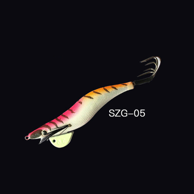Fishing Trends Online Tackle Shop:1Pcs Egi Squid Hook Bionics Lure 34g Offshore Angling,SZG-05 / 34g