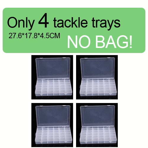 Fishing Trends Online Tackle Shop:Bag Large Fishing Reel Bag Waterproof Tackle Bag Outdoor Travel Bag XL,Only 4  tackle trays / 40L