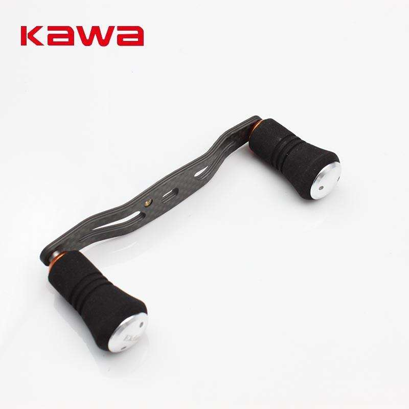Reel Handle Kawa Carbon Fibre Fishing For Baitcasting Eva Knob Hole Size 8X5Mm Tool