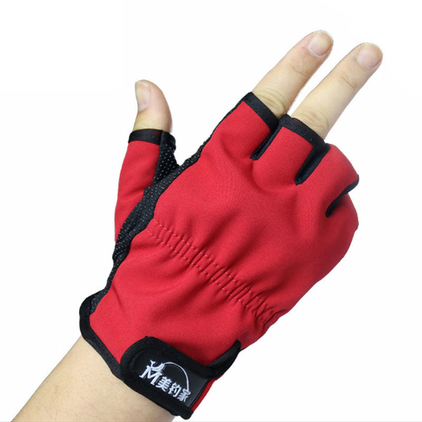 Fishing Trends Online Tackle Shop:Glove Anti Slip Fishing Gloves/Outdoor Sports