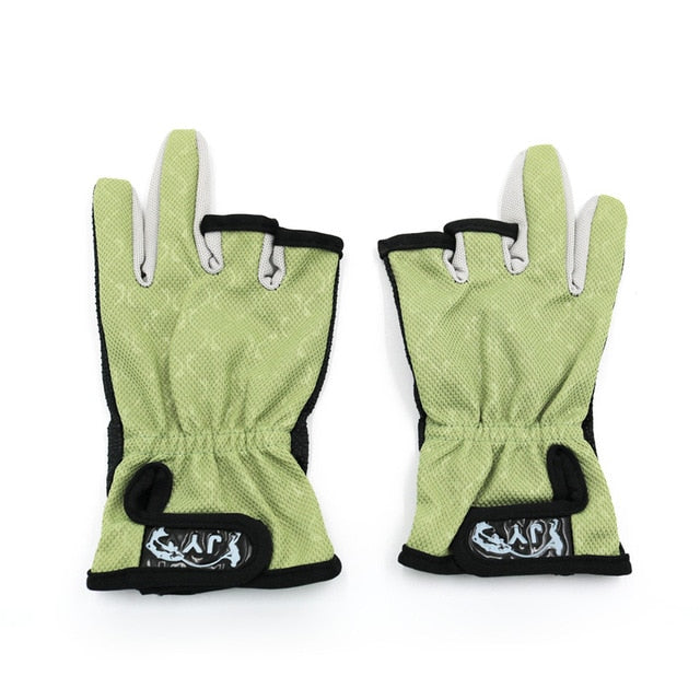 Fishing Trends Online Tackle Shop:Glove Anti Slip Fishing Gloves/Outdoor Sports,Green