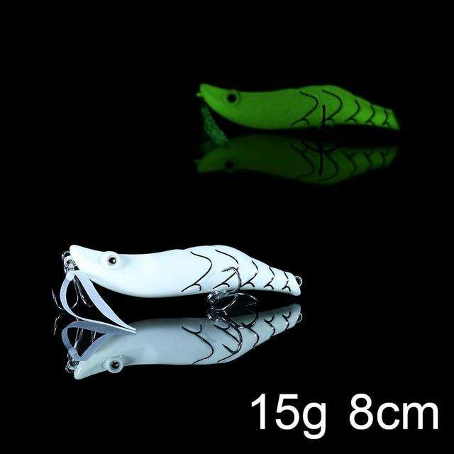 Fishing Trends Online Tackle Shop:QXO Luminous Hard Lure Goods For Fishing Jig Metal Squid Wobbler Minnow Winter Sea Ice Fishing Lead Micro Duck Spinner bait,C