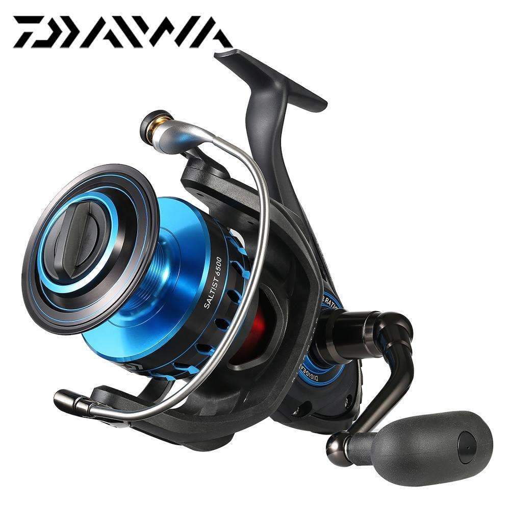 Fishing Trends Online Tackle Shop:Reel DAIWA SALTIST 5000 6500 8000 Spinning 9BB 15KG Max Drag Saltwater,9 / 5000 Series