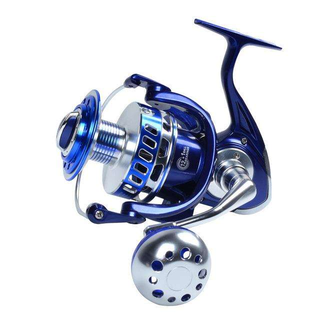 Reel Mavllos Max Drag 25-35Kg Spinning 13Bb Aluminum Alloy Metal Slow Jigging