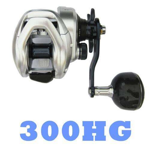 Fishing Trends Online Tackle Shop:Reel SHIMANO TRANX 300 301 300HG 400HG Low Profile 5+1BB Slow Jigging Reel,300HG