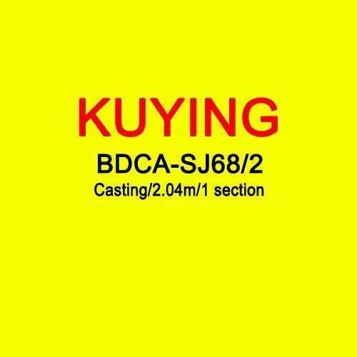 Rod Kuying Bluedancer 2.04M Casting Slow Jigging Carbon Fuji Rotate Helical Ring 1 Section 150-300G Lures