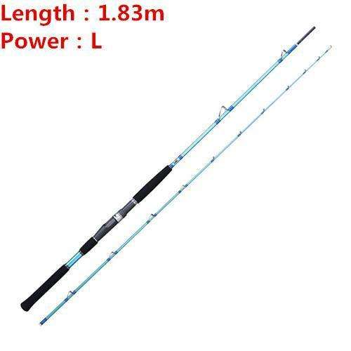 Rod M Jigging Noeby Japan Full Fuji Parts 1.68M /1.83M 95% Carbon Boat