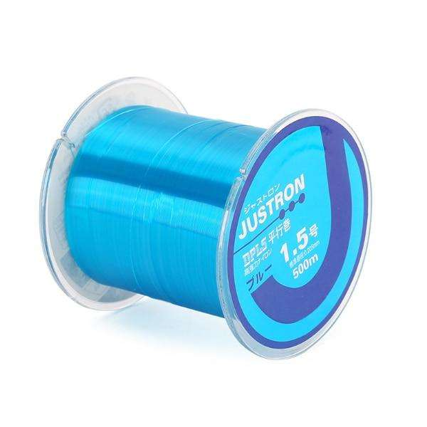 Fishing Trends Online Tackle Shop:SeaKnight New Cheap 500M Nylon Fishing Line Super Strong Monofilament 2-35LB Quality Japanese Material Saltwater Carp Fishing,Blue / 2LB 0.105mm