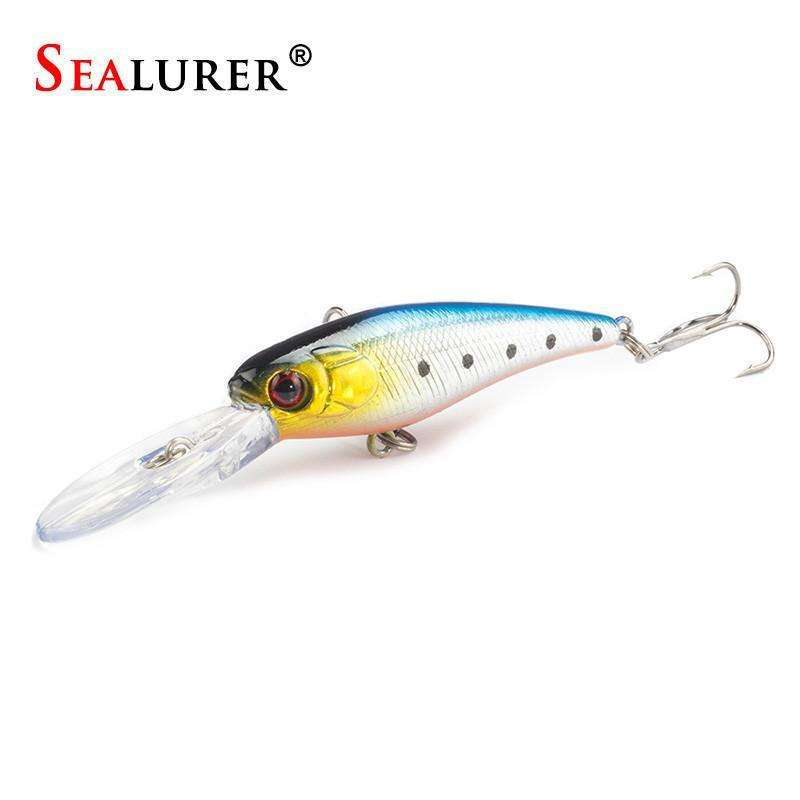 Lure Sealurer 1Pcs Fishing New Long Tongue Bait Tackle Minnow