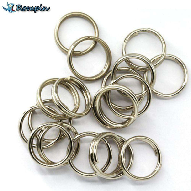 Split Rings Tackle 100Pcs S/steel For Lures Double Loop 6Mm 7Mm 8Mm Hook