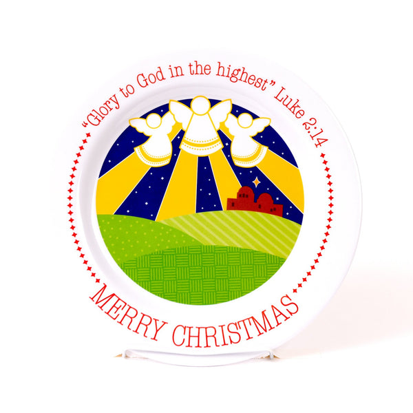 Christmas Angels Plate