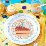 Birthday Plate and Bowl Set